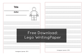 writing lego stories writing paper homegrown  the lego story folder