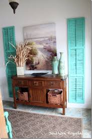 diy ideas for your entry repurposed shutters entryway wall decor cool and creative home