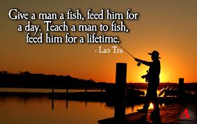 I can catch my own fish!   The Athletic Mindset