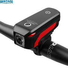 <b>Deroace Bicycle</b> Light Waterproof USB Rechargeable <b>Bike</b> Warning ...