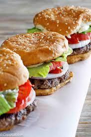 Copycat Burger King Whopper