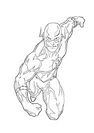 Small Picture Justice league coloring pages the flash ColoringStar