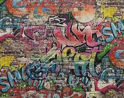 graffiti wallpaper street brick wall