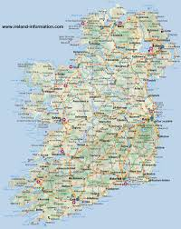 ireland maps free and dublin cork galway
