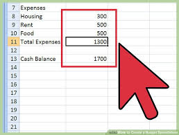 Budget Expense Sheet How To Create A Budget Spreadsheet A Step By Step Guide
