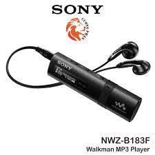 Máy Nghe Nhạc Sony Walkman MP3 NWZ-B183F | Bộ nhớ trong 4GB |