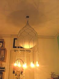 picture of wire balloon chandelier