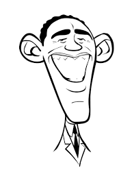 Small Picture Luxury Barack Obama Coloring Page 15 For Your Download Coloring