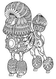 Free Coloring Pages For Dogs Luxury Easy Coloring Pages For Adults