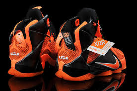 lebron shoes 2017 kids. 2015 cheap womens and kids lebron 12 id xii bright citrus total orange black for sale shoes 2017 k