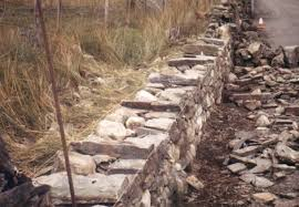 standards of dry stone walling