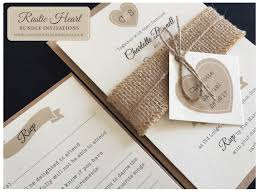 wedding invitations with hearts rustic collections bespoke wedding stationery save the date