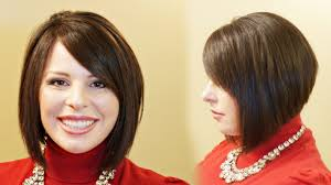 Hair Style For Plus Size how to cut a stacked aline aline haircut tutorial youtube 6711 by wearticles.com