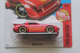 mazda rx7 2017. 2017 hot wheels kmart red mazda rx7 then and now mazda