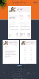 Creative And Modern Cv Resume Template For Word Pages With Photo
