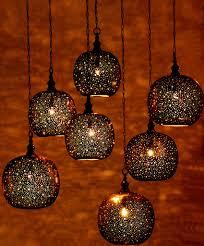 moroccan pendant lanterns by st tropez boutique