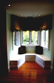Window Seat Living Room Interior Charming Living Room Design With Bay Window Design And