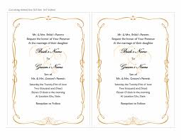 invitation download template wedding invitations heart scroll design a7 size 2 per page
