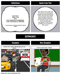 Frayer Boy The Third Wish Frayer Model Vocabulary Storyboard