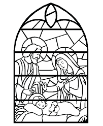 Nativity Coloring Pages Free Christian Lds Christmas Pictures Disney ...
