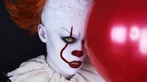 it 2017 pennywise makeup tutorial