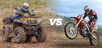 dirt bike vs atv 12 pros and cons of each sport dirt bike planet