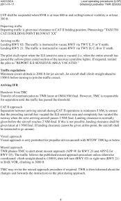 Esgg Charts Local Operating Procedures Lop Landvetter Twr Esgg Pdf