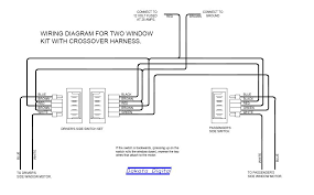 window switch wiring schematic need aftermarket power window wiring diagram hot rod forum click image for larger version window wire