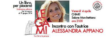 Incontro con ALESSANDRA APPIANO » Rete Bibliotecaria Bresciana e Cremonese