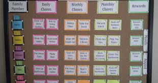 Robbygurls Creations Family Chore Chart