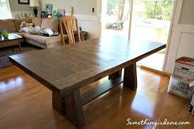 rustic dining table diy. dining table diy round top build room idea rustic minimalist set plans outdoor easy