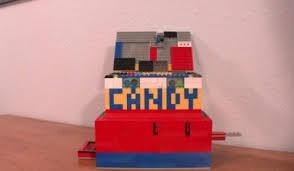 Lego Candy Vending Machine Gorgeous DIY Lego Candy Machine Walyou