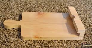 Kitchen Tablet Holder Remodelaholic How To Make A Tablet Holder