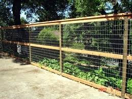 diy welded wire fence. How To Build A Welded Wire Fence Hog Would Want 1 2 Height House Diy N