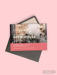 25 Open House Invitation Templates Free Sample Example