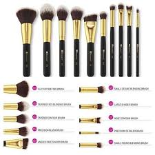 bh cosmetics sculpt and blend 2 10 piece brush set health beauty makeup on carousell