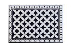 Pvc Vinyl Mat Tiles Pattern Decorative Linoleum Rug Color Black White  132 Pvc Rug Kitchen Mat Free Shipping 57c1eb6a4