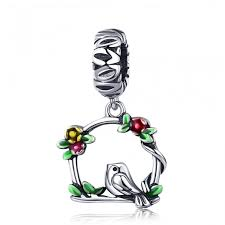 new jewelry collection bird cage pendant charm