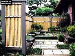 Small Picture Bamboo Fencing Design Ideas Fence Ideas And Designs YouTube