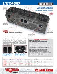 Small Block Chevrolet SR, SR Torquer, & Motown Cylinder Heads by ...