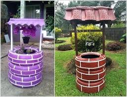 garden crafts. Garden Crafts To Make Colorful From Old Tires 6 Ideas For E