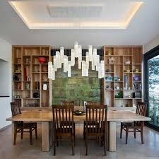 galilee lighting custom hand crafted art glass chandeliers modern contemporary dining room