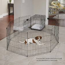 midwest foldable exercise dog pen