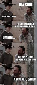 Rick and Carl Long Latest Memes - Imgflip via Relatably.com