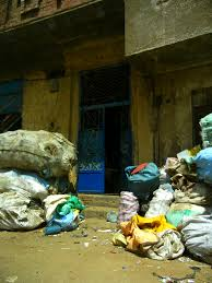 inside cairo s garbage city slums waste management and in 2003 the then president hosni mubarak made an attempt to liberalize the waste management sector by