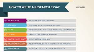 professional tips on how to write a research essay com getting started