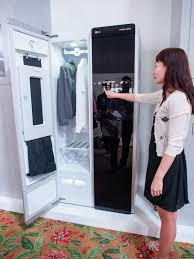 lg dry cleaner. Unique Cleaner The LG Styler Is The Size Of A Cabinet Not Too Bad When You Consider Intended Lg Dry Cleaner D