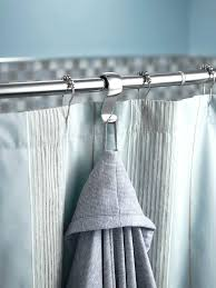 moen shower rod brushed nickel shower rod mounted towel and robe hook 1 per pack moen double curved shower rod installation instructions