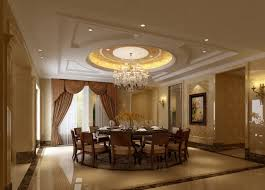 luxury chrome chandelier elegant round dining table awesome ceiling decoration ceiling accent lighting wood upholstered dining chair luxury brown curtain