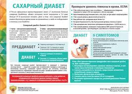 Все о сахарном диабете ГБУЗ МО Каширская центральная районная  plakat s d
